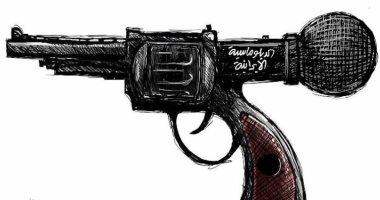 كاريكاتير اليوم.. الدبلوماسية الإيرانية تطلق رصاصها على الجميع