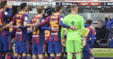 16 يوماً تحسم موسم برشلونة الإسباني فى جميع المسابقات