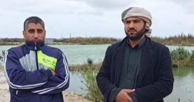 أجواء حزن وانتظار الجثث.. تفاصيل البحث عن ضحايا غرق مركب بالإسكندرية.. فيديو