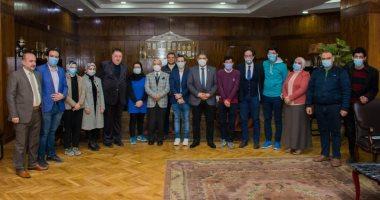 جامعة طنطا: صرف فروق الرواتب المستحقة لأطباء الامتياز قريبا