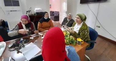المجلس القومي للمرأة بالإسماعيلية ينظم معرضًا للحرف اليدوية.. صور