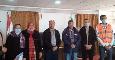 أعضاء صندوق مكافحة وعلاج الإدمان والتعاطى يزورون القنطرة شرق بالإسماعيلية
