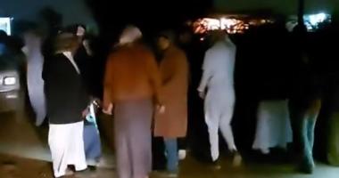 دفن ضحايا مركب مريوط الغارق فى الإسكندرية.. فيديو