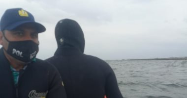 تواصل عمليات البحث عن ضحايا المركب الغارقة بالإسكندرية .. فيديو
