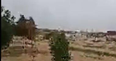 أمطار رعدية على الإسكندرية وانخفاض بدرجات الحرارة.. فيديو