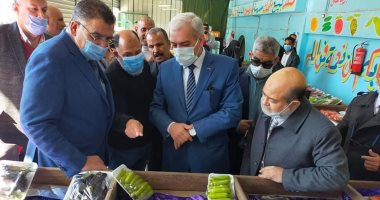 افتتاح منفذ منتجات مدرسة سرابيوم الزراعية بمحافظة الإسماعيلية.. صور