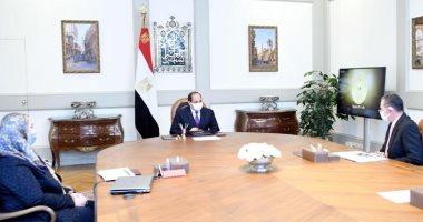لقاء الرئيس عبد الفتاح السيسى
