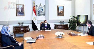أخبار مصر.. الرئيس السيسى يتابع تنفيذ مشروعات وزارة الشباب على مستوى الجمهورية