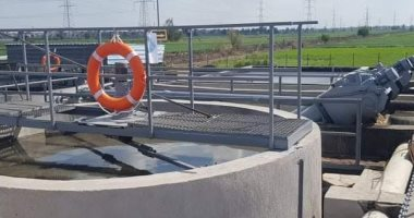 محطة معالجة الصرف بالغنيمية بدمياط تحصل على شهادة للإدارة الفنية المستدامة