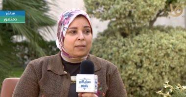 المهندسة هالة عبد الله مدير فرع الأبنية التعليمية في البحيرة