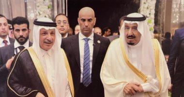 السعودية نيوز |                                              أحمد قطان يستعيد ذكريات تعيينه وزيرا للدولة للشئون الإفريقية بصورة مع الملك سلمان