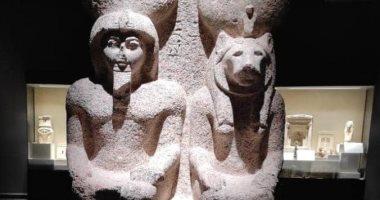 متحف كفر الشيخ يعرض قطعا أثرية تحكى عن الحب عند المصريين القدماء.. صور