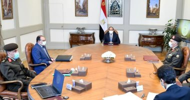 الرئيس السيسي: أحدث المعدات والآلات الإنشائية والهندسية لتنفيذ المشروعات القومية