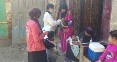 تطعيم 489 ألف طفل بالمنيا فى اليوم الأول للحملة القومية للتطعيم ضد شلل الأطفال