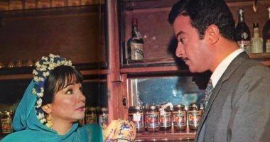 """صورة نادرة جمعت يوسف شعبان مع شادية من كواليس """"ميرامار"""" منذ عام 1969"""