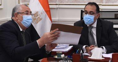رئيس الوزراء يتابع ملفات عمل وزارة الزراعة.. صور