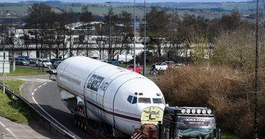 شركة تكنولوجيا بريطانية تشترى طائرة بوينج 727 قديمة لسبب غريب.. فيديو وصور