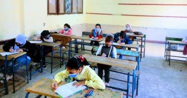 مليونا و988 ألف تلميذ أدوا امتحان الفصل الدراسى الأول بالسادس الابتدائى