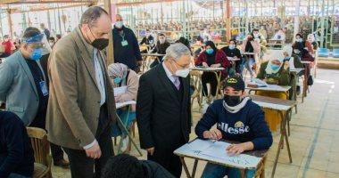 """2975 طالبا وطالبة بالفرقة النهائية يؤدون الامتحانات بـ""""تجارة طنطا"""""""