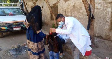 الصحة: تطعيم 15 مليون طفل ضد شلل الأطفال بينهم 15 ألف من غير المصريين