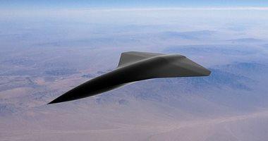 صورة إطلاق أول مركبة جوية قتالية بدون طيار أسرع من الصوت فى العالم