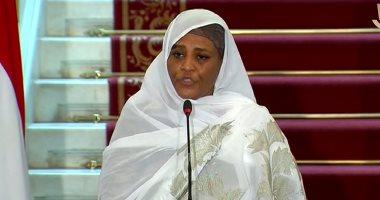 وزيرة خارجية السودان: نتطلع للاستفادة من تجربة مصر الملهمة فى الإصلاح الاقتصادى