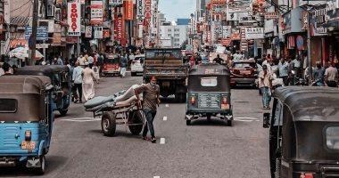 شارع فى سريلانكا