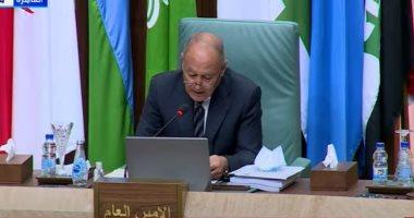 رئيس وفد لبنان: نقدر دور أبو الغيط فى دعم بلدنا