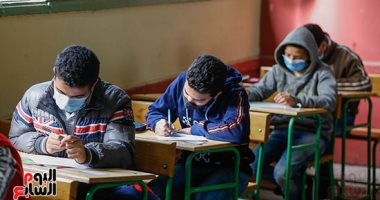 طلاب الشهادة الاعدادية - أرشيفية