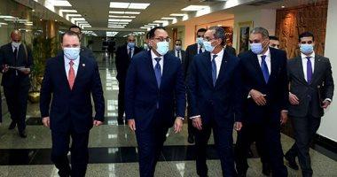 رئيس الوزراء يزور مقر النائب العام لمتابعة جهود التحول الرقمى.. صور