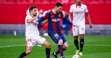 صورة التشكيل المتوقع لقمة برشلونة ضد إشبيلية فى كأس ملك إسبانيا