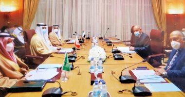 وزير الخارجية يترأس الاجتماع الوزارى المعنى بتدخلات تركيا في شئون العرب