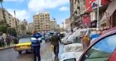 موجة طقس سيئ تضرب الإسكندرية .. أمطار ورياح وأجواء شديدة البرودة.. فيديو