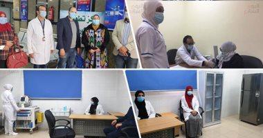 أخبار مصر.. تطعيم 1141 مواطنا من الفئات المستحقة بلقاح كورونا فى اليوم الأول