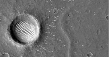 """""""ناسا"""": احتمال وجود كميات من المياه فى قشرة كوكب المريخ"""