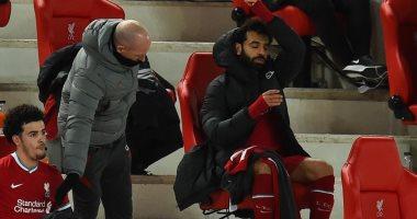 """صورة ليفربول ضد تشيلسى.. الغضب يسيطر على محمد صلاح عقب استبداله.. """"فيديو"""""""