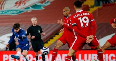 """ليفربول ضد تشيلسى.. الريدز يسقط بهدف فى خسارة تاريخية.. """"فيديو"""""""