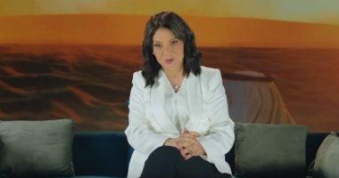 """ظهور الإعلامية درية شرف الدين فى أولى حلقات برنامج """"حديث العرب فى مصر"""" غدًا (فيديو)"""