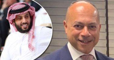 رجل الأعمال تامر مرسي والمستشار تركى آل الشيخ