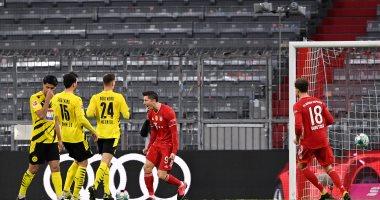 ترتيب الدوري الالماني بعد مباراة البايرن ضد دورتموند