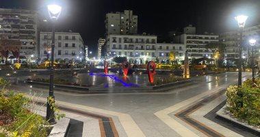 """""""حديقة فريال التاريخية"""" وجهة زاور بورسعيد.. فيديو لايف"""