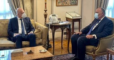 وزير الخارجية لنظيره اليونانى: مصر تتطلع لسرعة تدشين تعاون مشترك بمجال الطاقة
