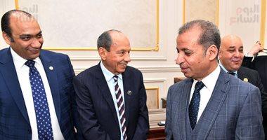 إبراهيم حجازى رئيسا للجنة الشباب والرياضة بالشيوخ والجبرى ودياب وكيلين