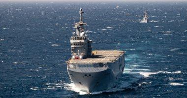 القوات البحرية المصرية والفرنسية تنفذان تدريباً بحرياً عابراً بقاعدة البحر الأحمر