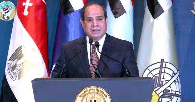 الرئيس السيسى: الريف ترك لسنين طويلة.. ونتحرك بأموال مصر لتغيير الواقع