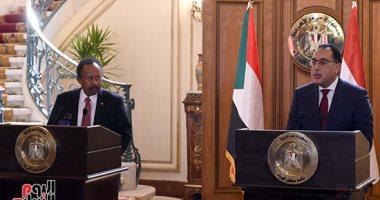 حمدوك: توافق تام بين مصر والسودان بشأن ملف سد النهضة
