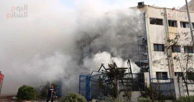 القوى العاملة تكشف 9 مخالفات في مصنع الملابس الجاهزة المحترق بالعبور