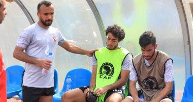 طبيب الأهلي: محمد هاني يشارك فى مران الأهلي غدا بشكل طبيعى بعد إصابة الرأس