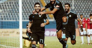 هدف +90.. محمد فاروق ينقذ بيراميدز من السقوط أمام طلائع الجيش بالدوري