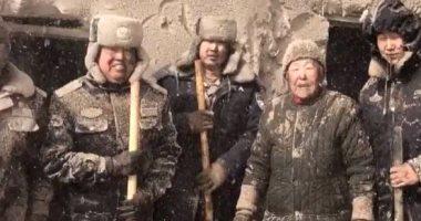 إنقاذ عجوز صينية من عاصفة ثلجية.. اعرف القصة